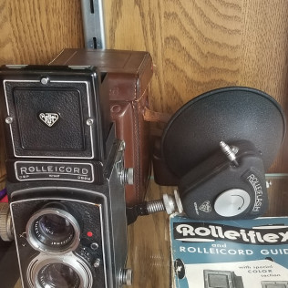 1930's Rolleicord Camera Outfit