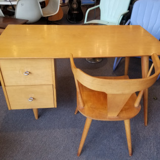 Paul McCobb Desk and Chair, 1950's